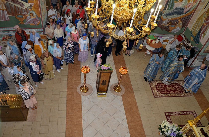 Престольный праздник в Спасо-Влахернском женском монастыре