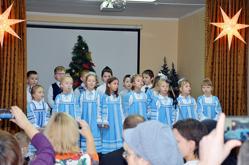 Рождественский концерт в Балашихе