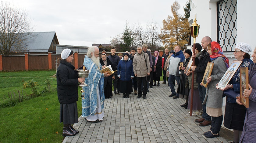 Престольный праздник на подворье Спасо-Влахернского женского монастыря