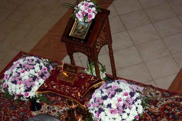 Частица мощей Святого Георгия Победоносца