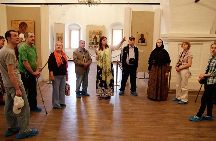 В Музее Андрея Рублева