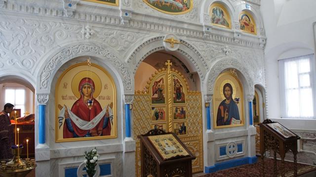 Служба на подворье Спасо-Влахернского женского монастыря