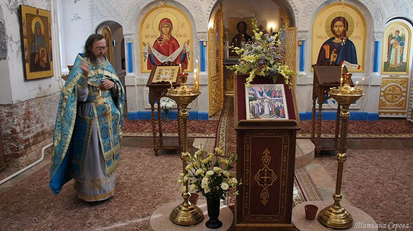 Престольный праздник на подворье Спасо-Влахернского женского монастыря в деревне Новокарцево
