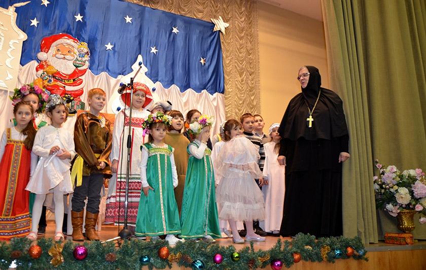 Рождественский концерт в пансионате